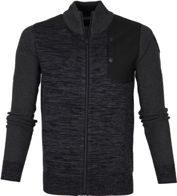 PME Legend Cardigan Anthracite