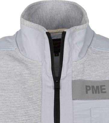 PME Legend Cardigan Ottoman Grey