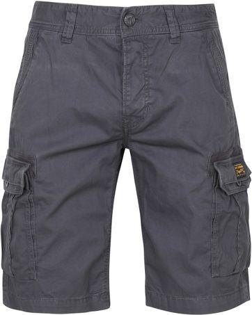 PME Legend Cargo Shorts Dobby Anthracite