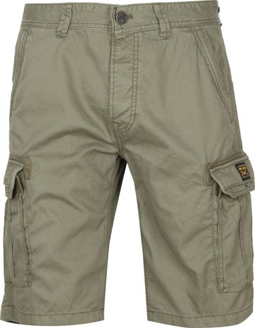 PME Legend Cargo Shorts Dobby Green