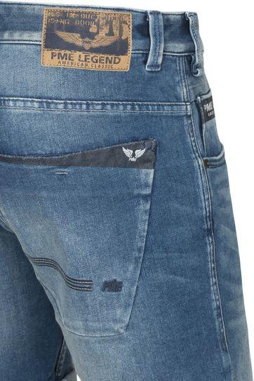 PME Legend Commander Jeans Short Mid Blue
