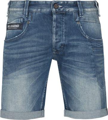 PME Legend Commander Jeans Shorts Mid Blue