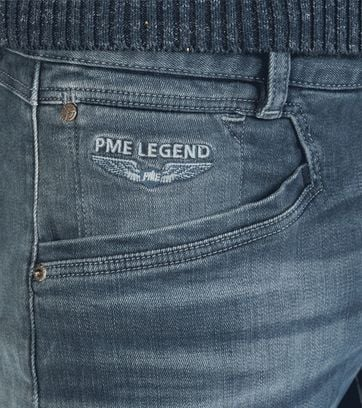 PME Legend Curtis Jeans Donkerblauw
