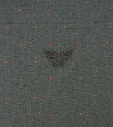PME Legend Dobby Overhemd Dessin Groen