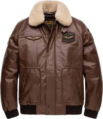 PME Legend Hudson Bomber Brown Jacket