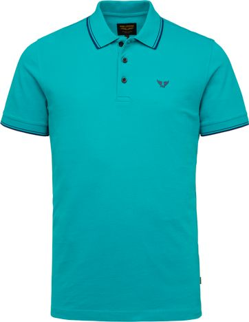 PME Legend Polo Shirt 214871 Blue