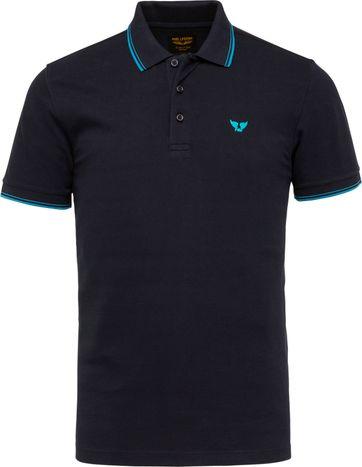 PME Legend Polo Shirt 214871 Dark Blue
