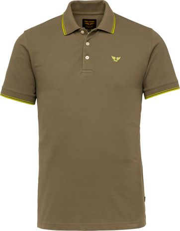 PME Legend Polo Shirt 214871 Dark Green