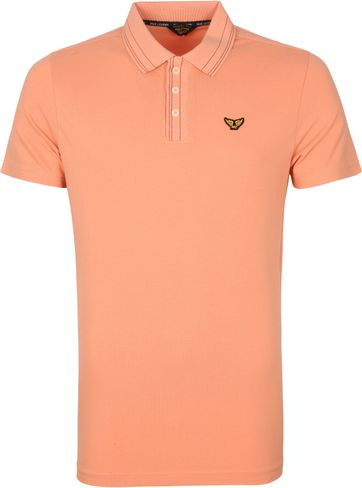 PME Legend Polo Shirt Stretch Orange