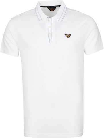 PME Legend Polo Shirt Stretch White