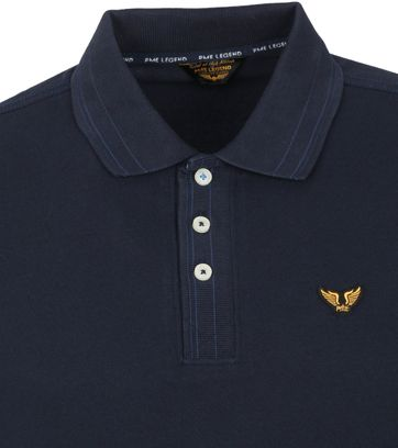 PME Legend Polo Stretch Donkerblauw