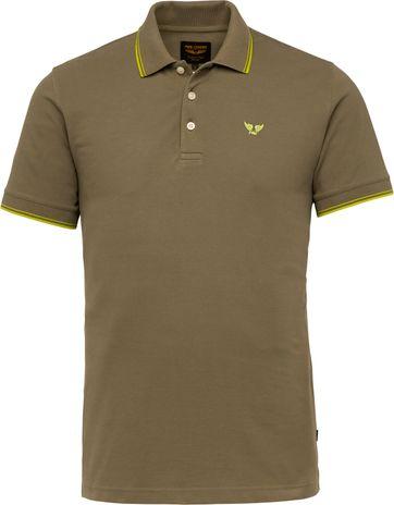 PME Legend Poloshirt 214871 Dunkelgrun