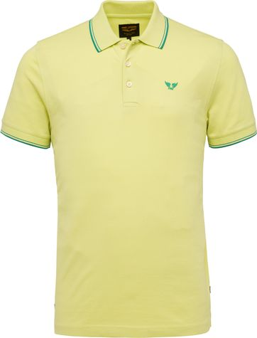 PME Legend Poloshirt 214871 Lindgrün