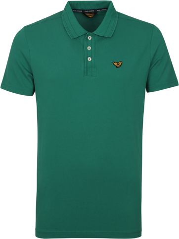 PME Legend Poloshirt Stretch Grun