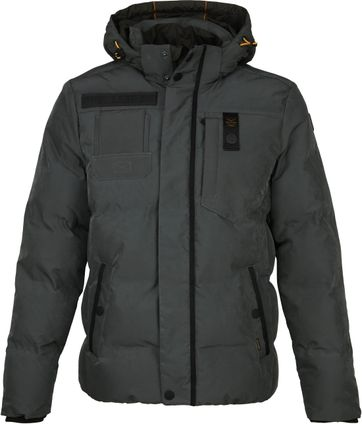 PME Legend Poly Micro Foam Snow Jacket Dark Green