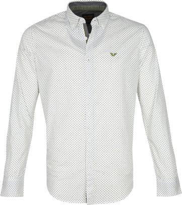 PME Legend Poplin Overhemd Wit