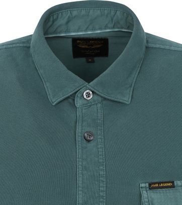 PME Legend Shirt Garment Dye Dark Green