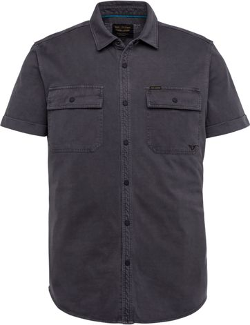 PME Legend SS Shirt Garment Dye Anthracite