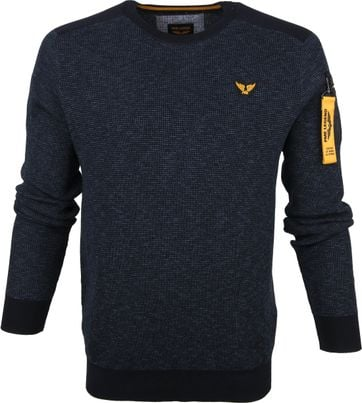 PME Legend Sweater Dark Blue