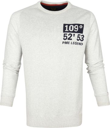 PME Legend Sweater Grey