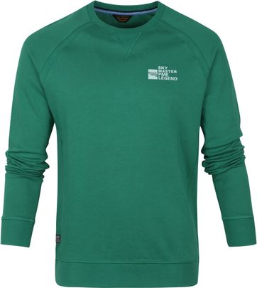 PME Legend Sweater Interlock Green