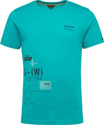 PME Legend T-Shirt 214552 Jersey Blauw
