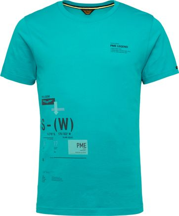 PME Legend T Shirt 214552 Jersey Blue