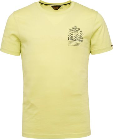 PME Legend T Shirt 214552 Jersey Lime Green