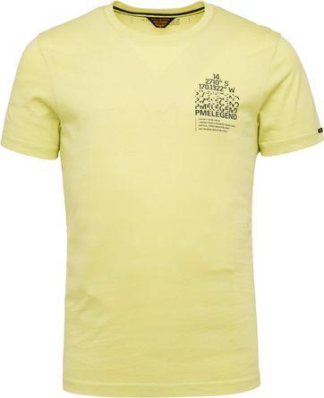 PME Legend T-Shirt 214552 Jersey Limoengroen