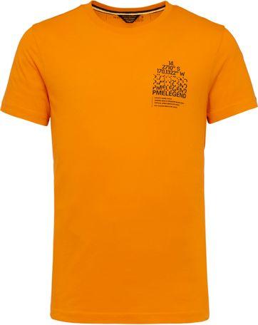 PME Legend T Shirt 214552 Jersey Orange