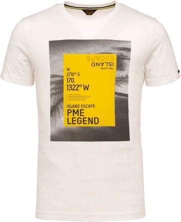 PME Legend T-Shirt 214552 Jersey Wit
