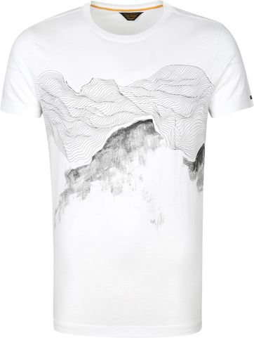 PME Legend T-Shirt Jersey Nature Weiß