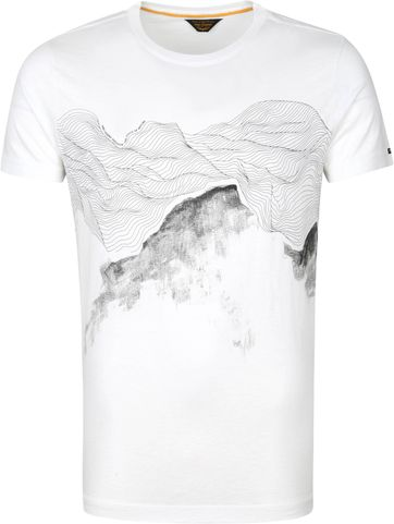 PME Legend T-Shirt Jersey Nature Wit