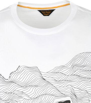 PME Legend T-Shirt Jersey Nature Wit