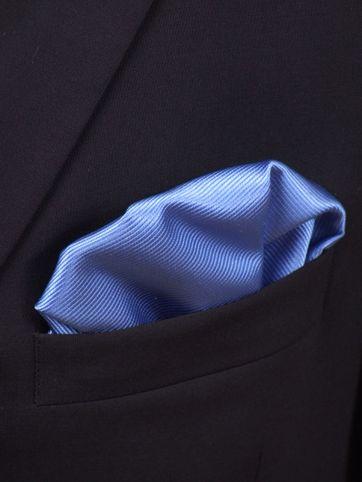 Pochet Zijde Midden Blauw F05