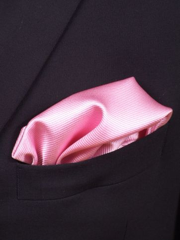 Pochet Zijde Roze F03