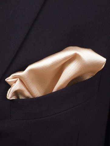 Pocket Square Champagne F10