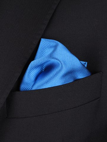 Pocket Square Light Kobalt F19