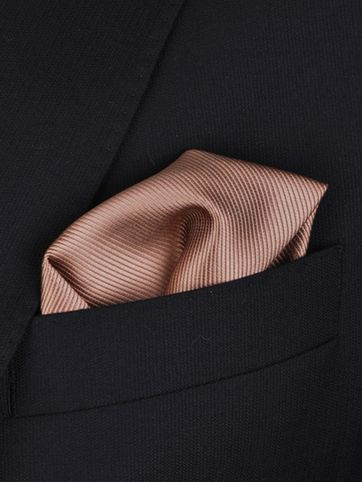 Pocket Square Silk Beige F54