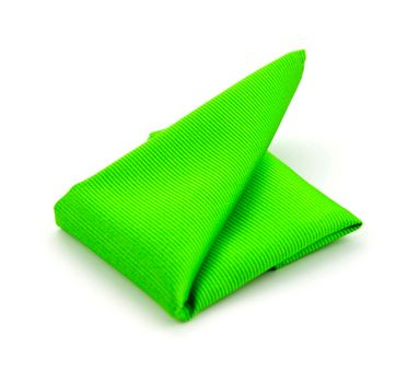 Pocket Square Silk Bright Green F33