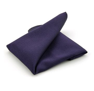 Pocket Square Silk Dark Purple F62