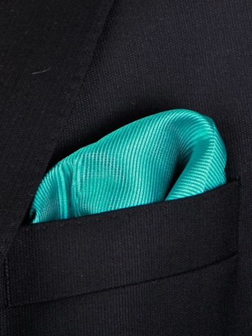 Pocket Square Smaragd F67