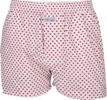 Pockies Boxershort Love Red