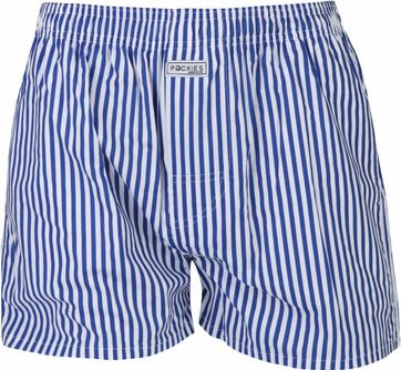 Pockies Boxershort Navy Stripes