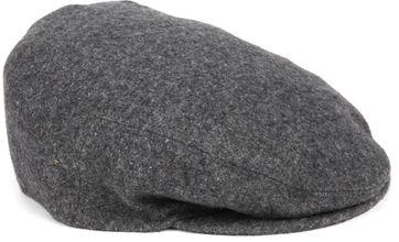 Profuomo Baskenmütze gewoben Grau
