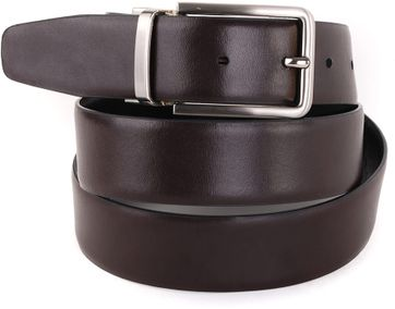 Profuomo Belt Black + Brown