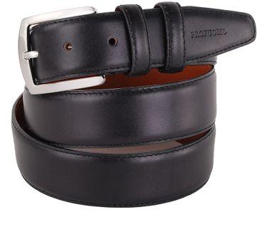Profuomo Belt Leather Black