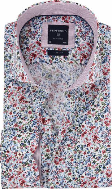 Profuomo Blumen Hemd