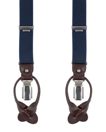 Profuomo Braces Navy