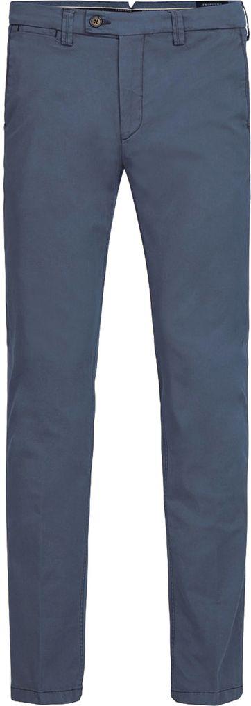 Profuomo Chino Garment DYE Blau
